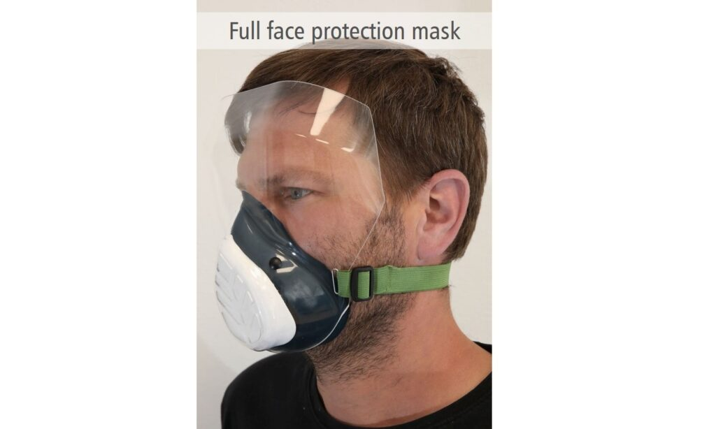 Full face protection mask