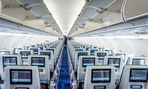 Flugzeugkabine